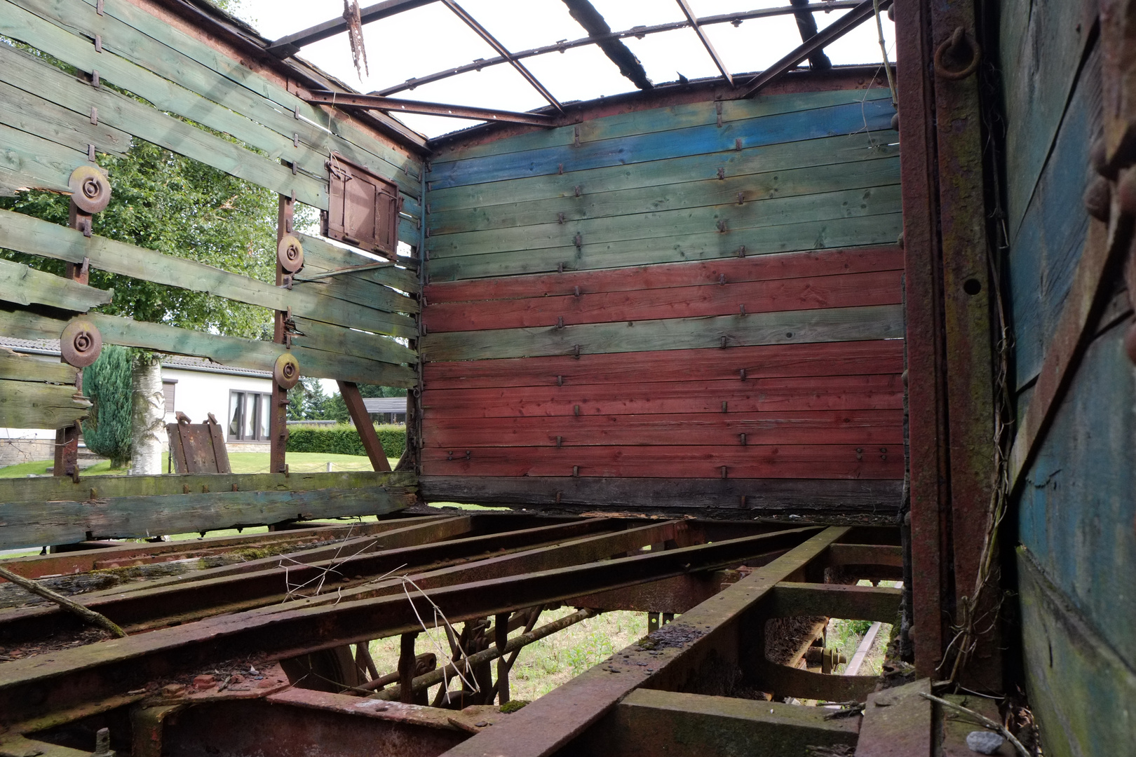 Der alte Bahnhof in Sourbrodt