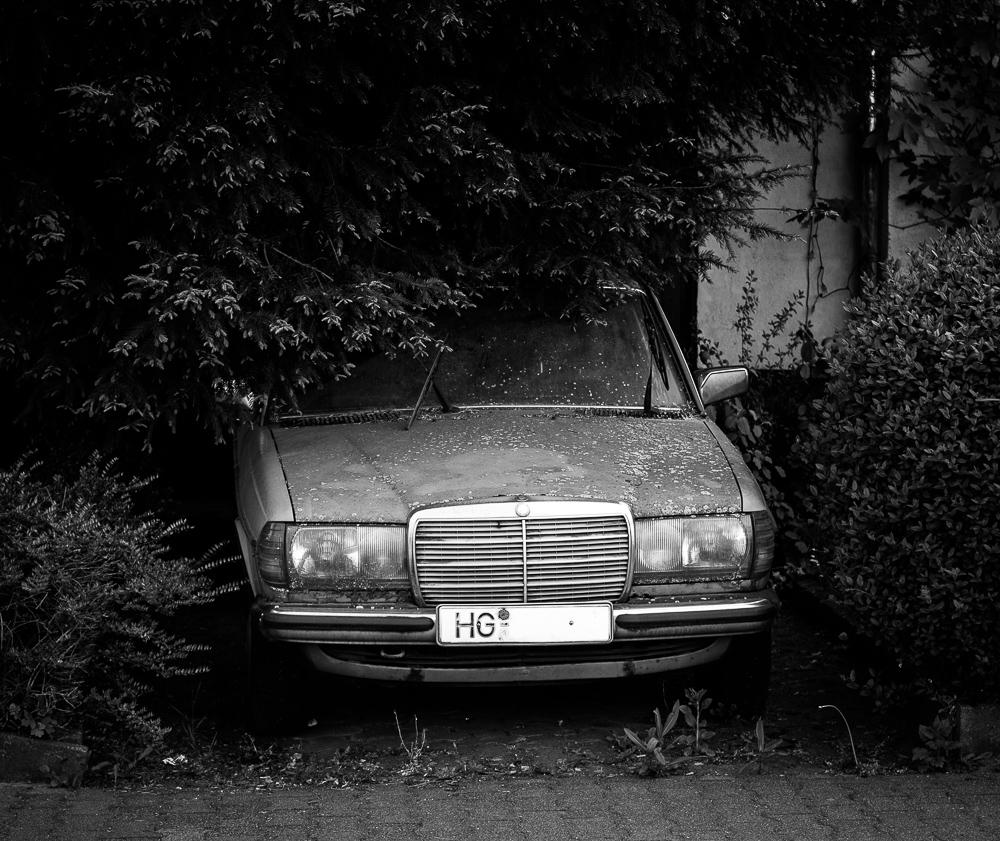 Der alte Benz ...