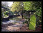 Der alte Friedhof von Hampstead