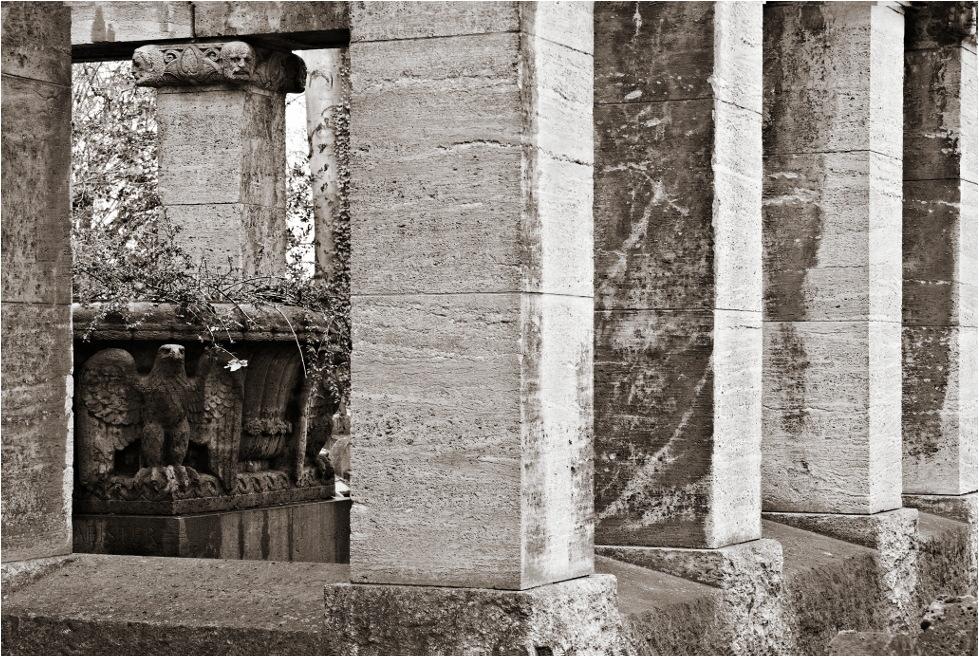 Der alte Friedhof von Offenbach