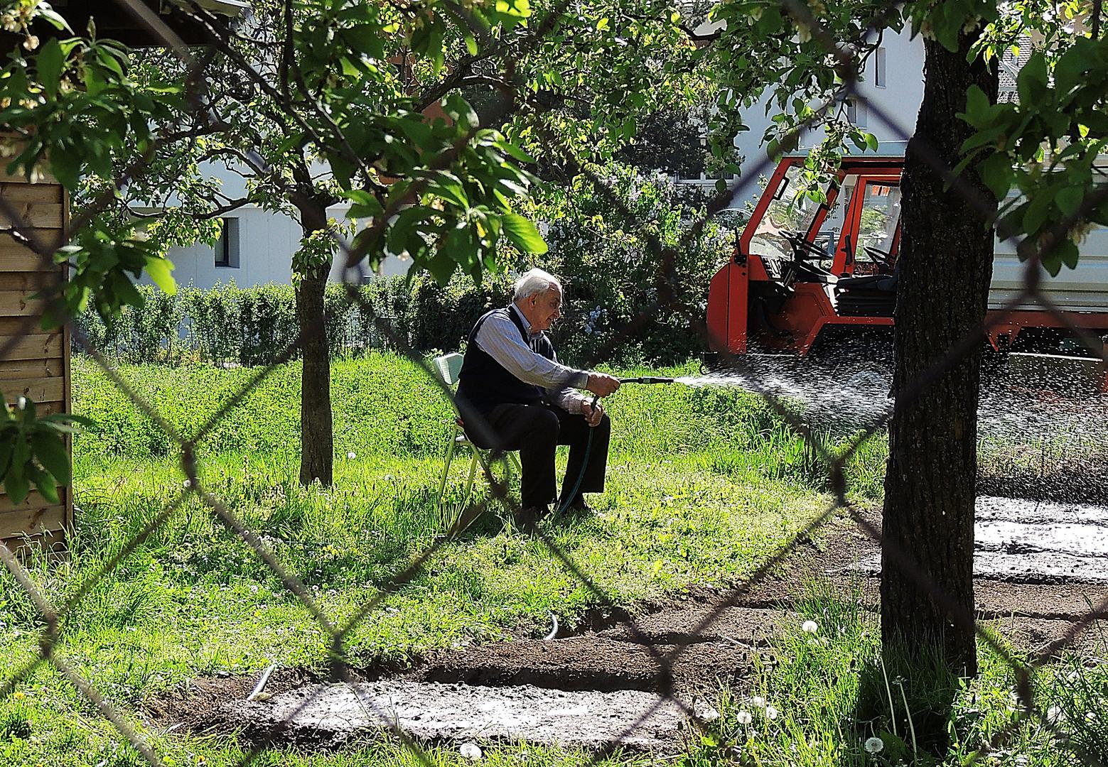 Der alte Gärtner