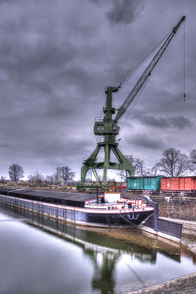 Der alte Hafen...