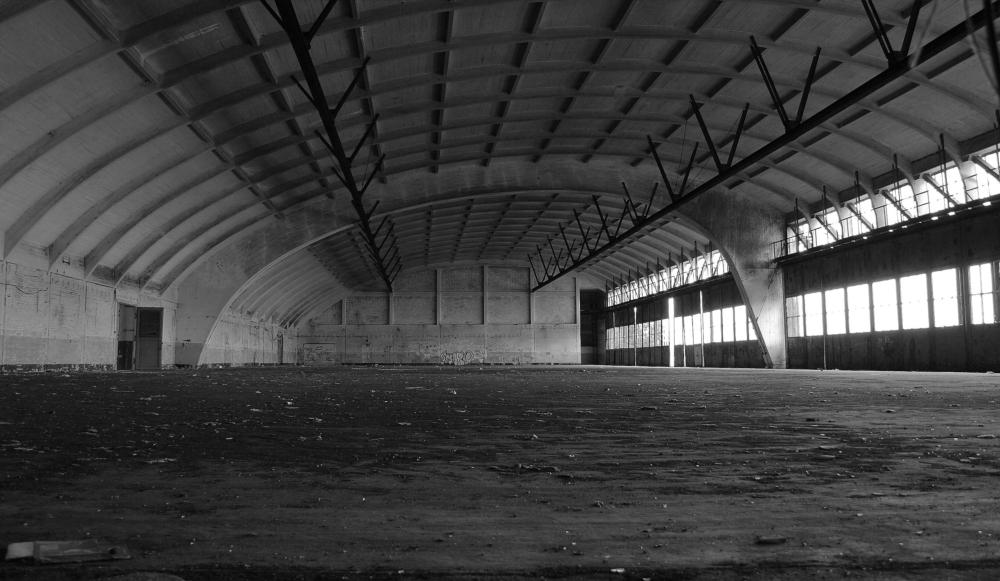 Der alte Hangar