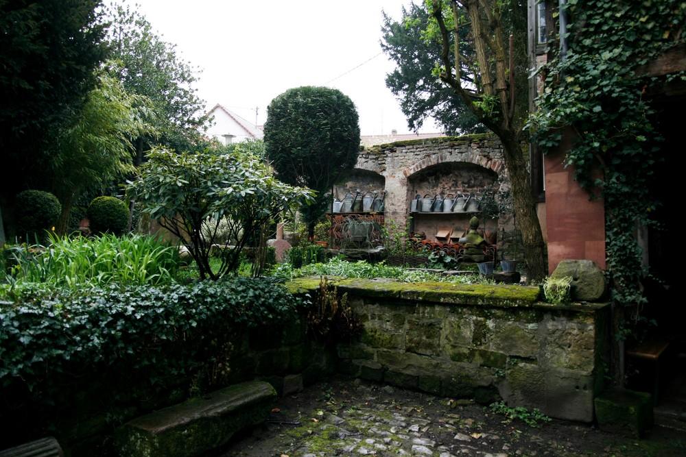 Der alte Innenhof