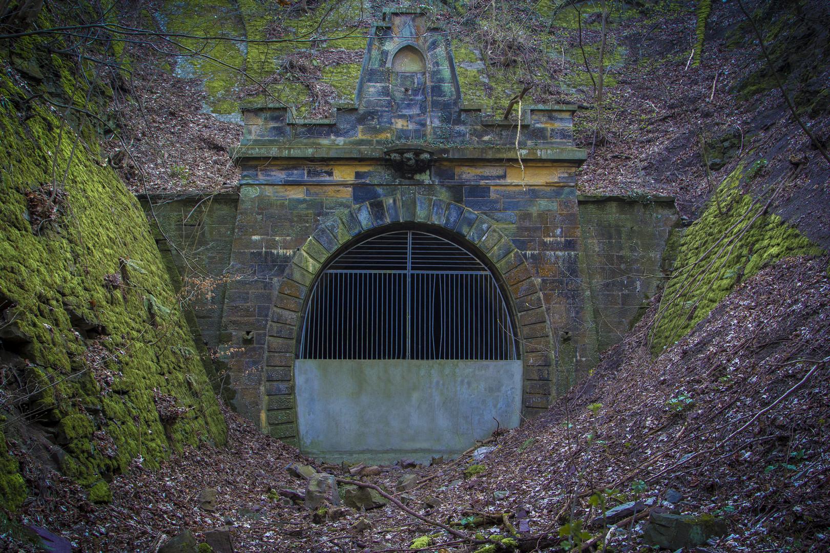 der alte Klüttunnel in Hameln