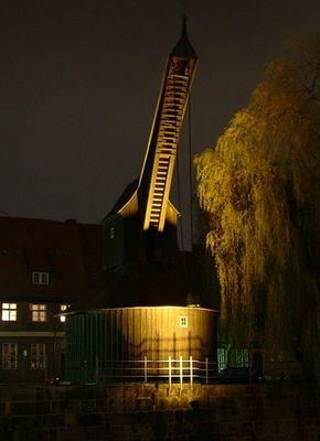 'Der alte Kran' - Lüneburger Wahrzeichen