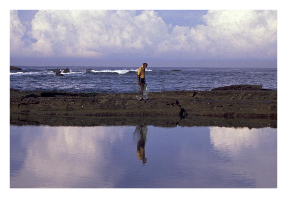 Der alte Mann, die Lagune und das Meer