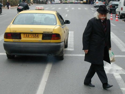 Der alte Mann und das Taxi