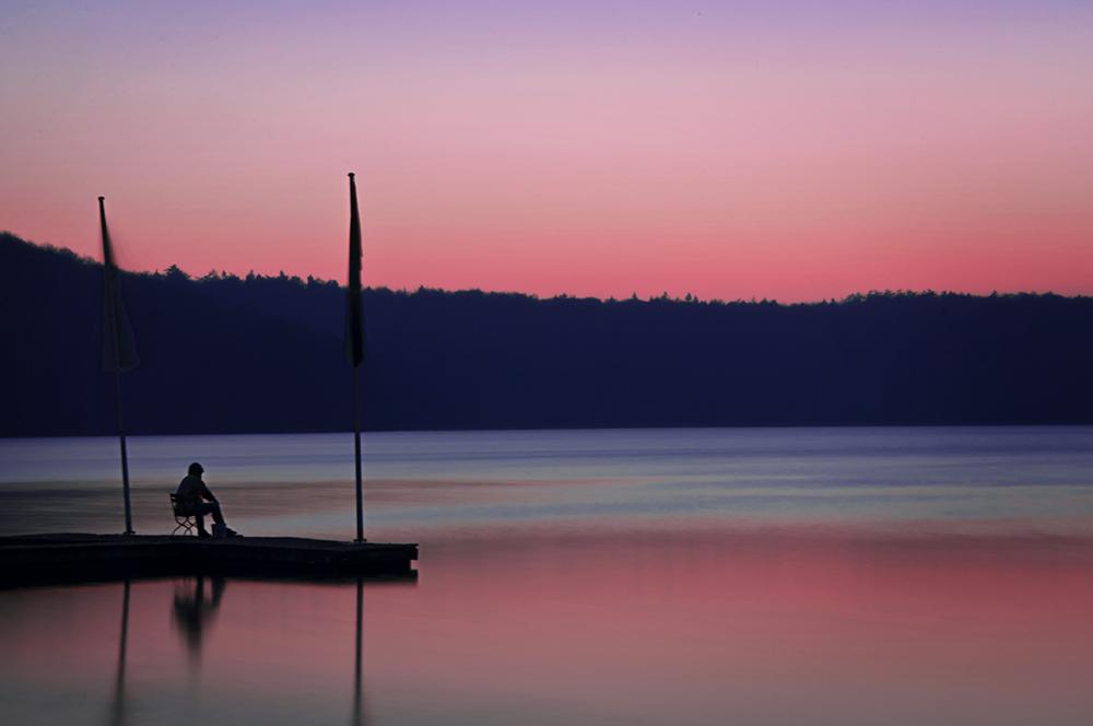 der alte Mann und... der See