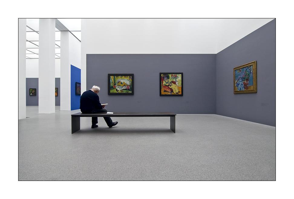 :: Der alte Mann und die Kunst ::