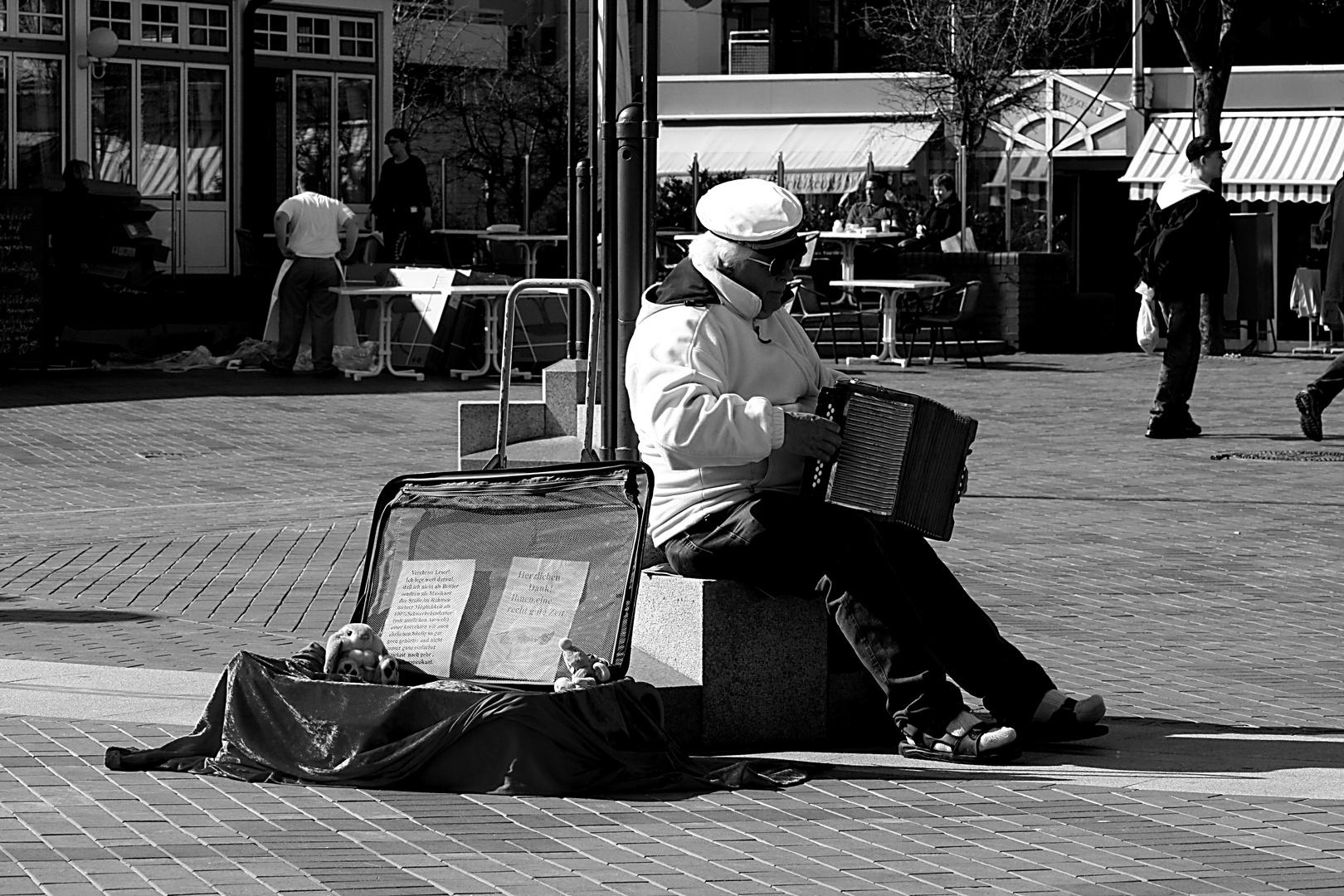 Der alte Mann und seine Musik...