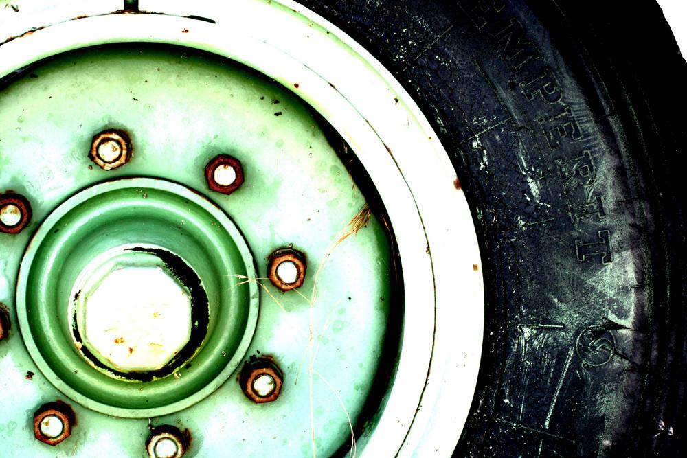der alte Reifen