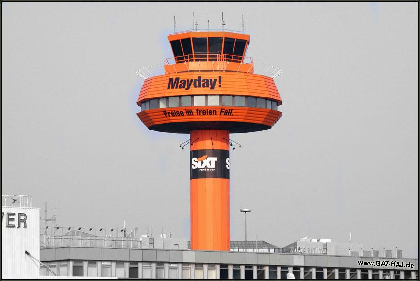 Der alte Tower vom Airport Hannover