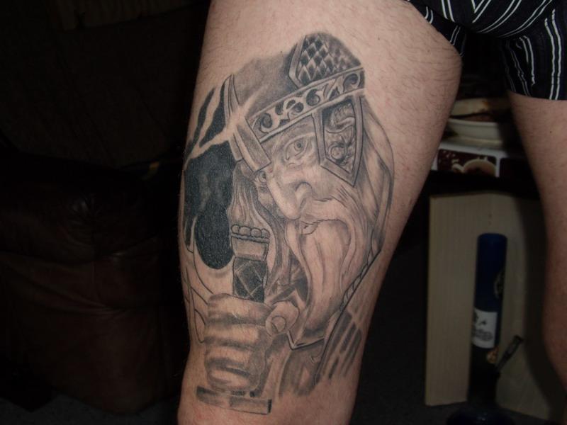 der alte wikinger foto bild kunstfotografie kultur kleinkunst meine tattoo s bilder auf. Black Bedroom Furniture Sets. Home Design Ideas