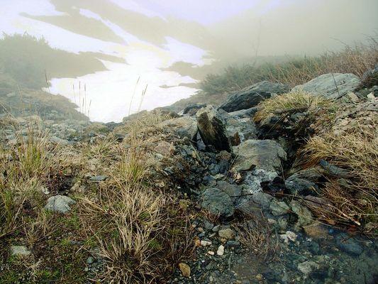 Der alte Winter in seiner Schwäche zog sich in rauhe Berge zurück.