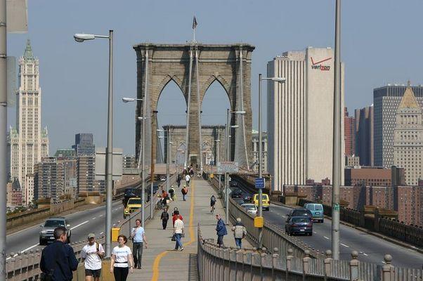 Der Anfang oder Ende der Brooklyn Bridge