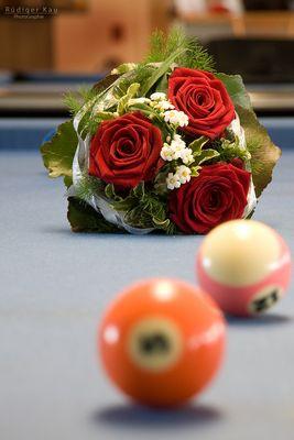 Der Anfang oder Hochzeit im Billardstudio..