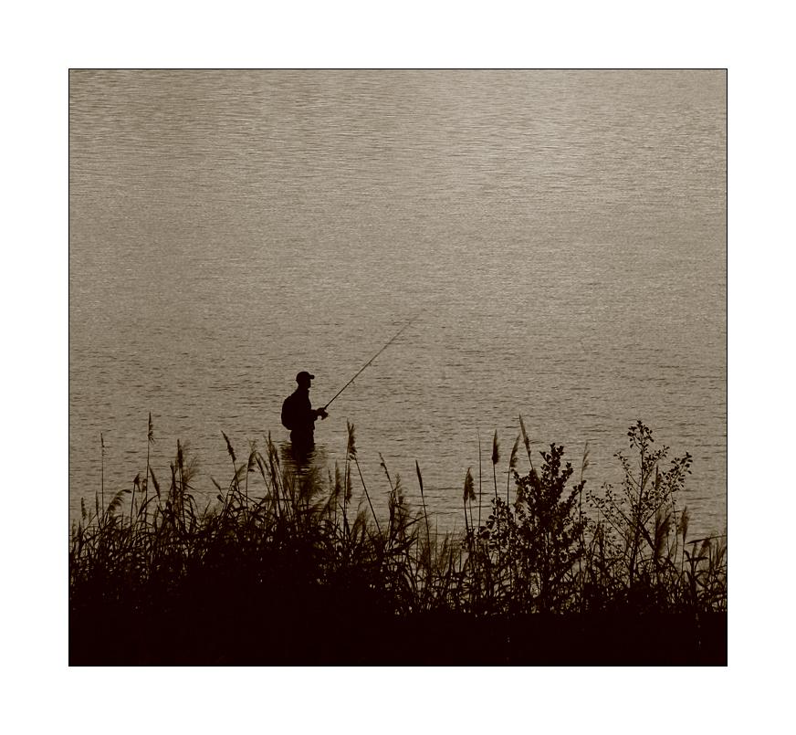 Der Angler in S.