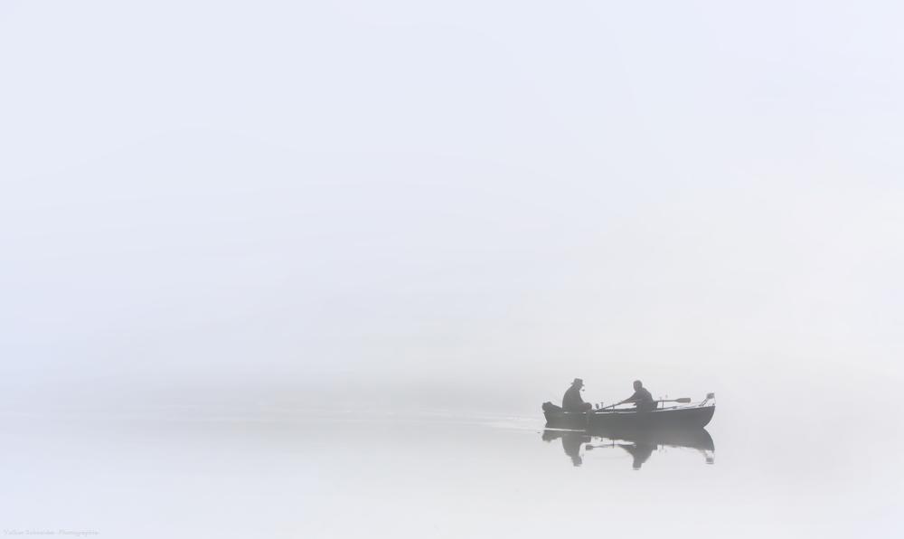 der Angler mit der Pfeife
