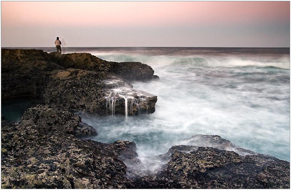 Der Angler und das Meer