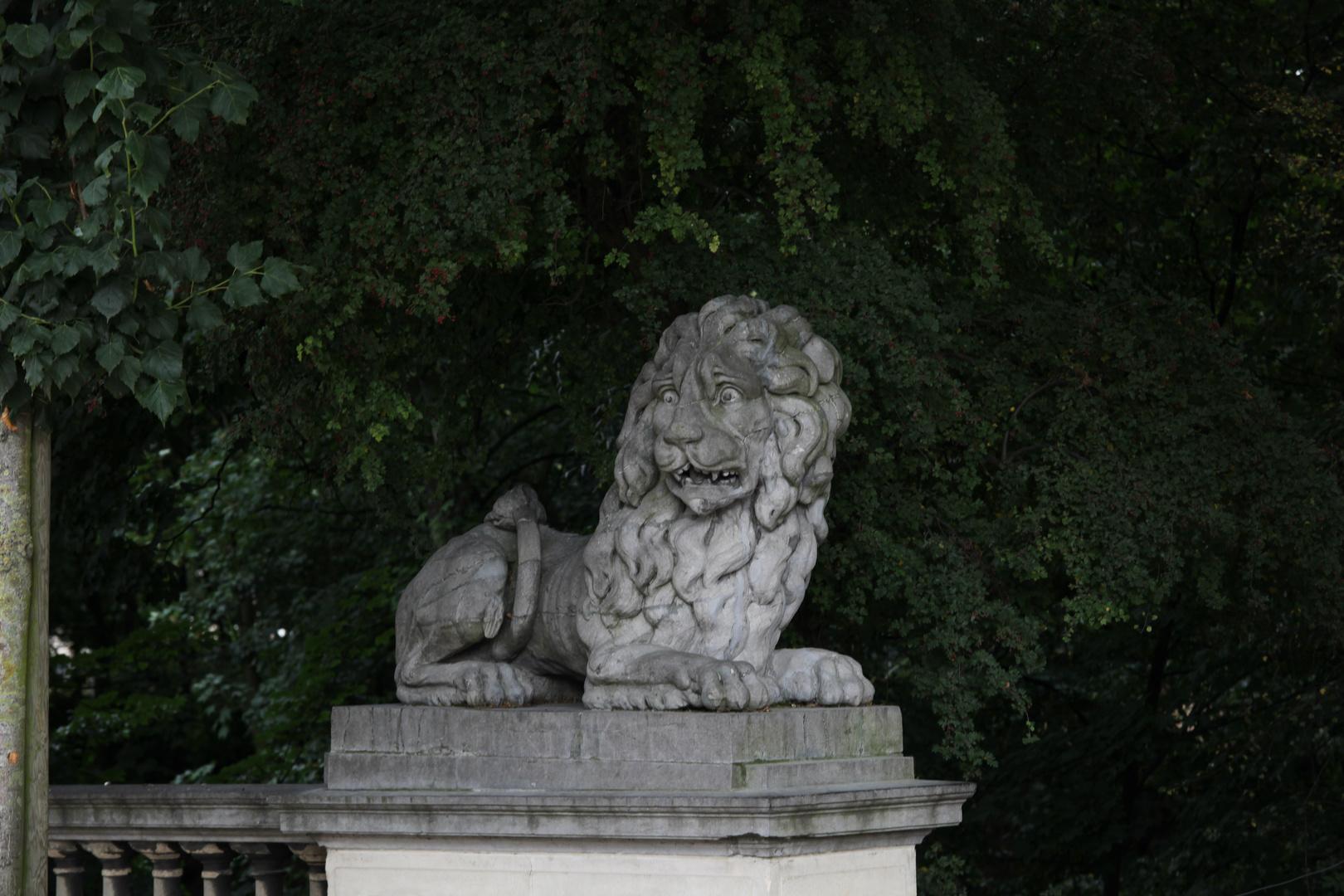 Der Angst Löwe