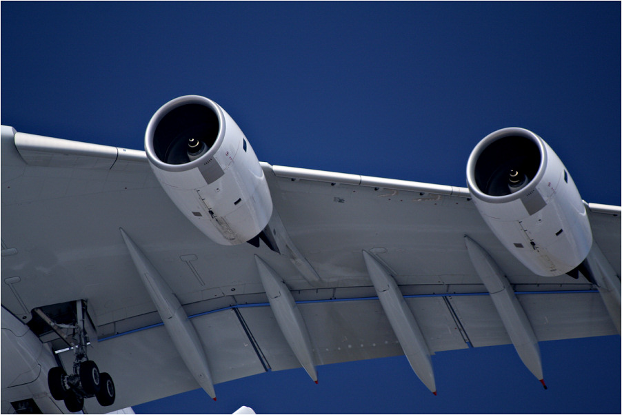 der Antrieb des A380...