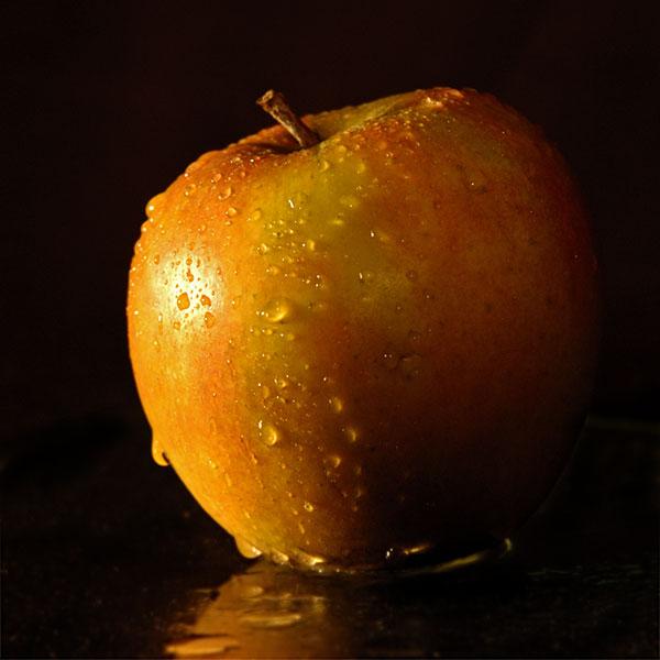Der Apfel der ...
