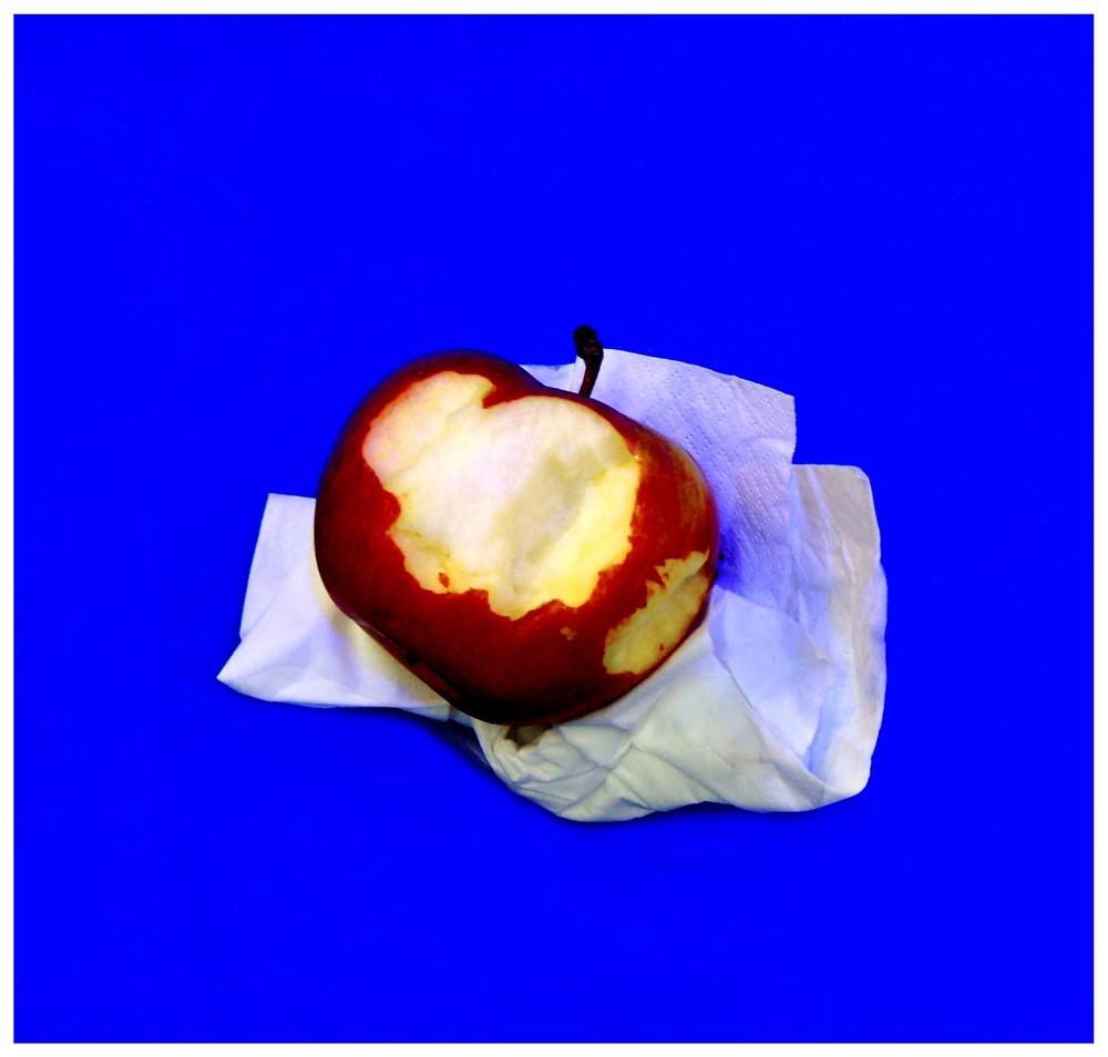 der Apfel war nicht lecker....