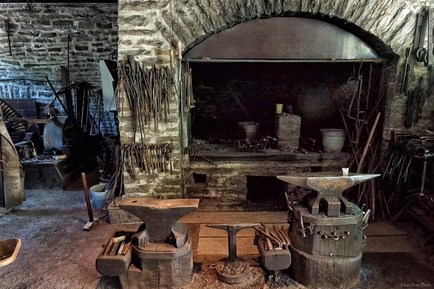der arbeitsplatz eines schmied foto bild industrie. Black Bedroom Furniture Sets. Home Design Ideas