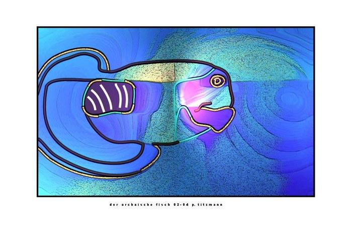 der archaische fisch - 2d