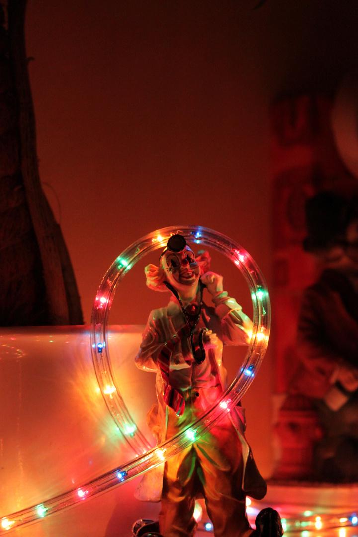 Der Arzt im Weihnachtslicht :-)