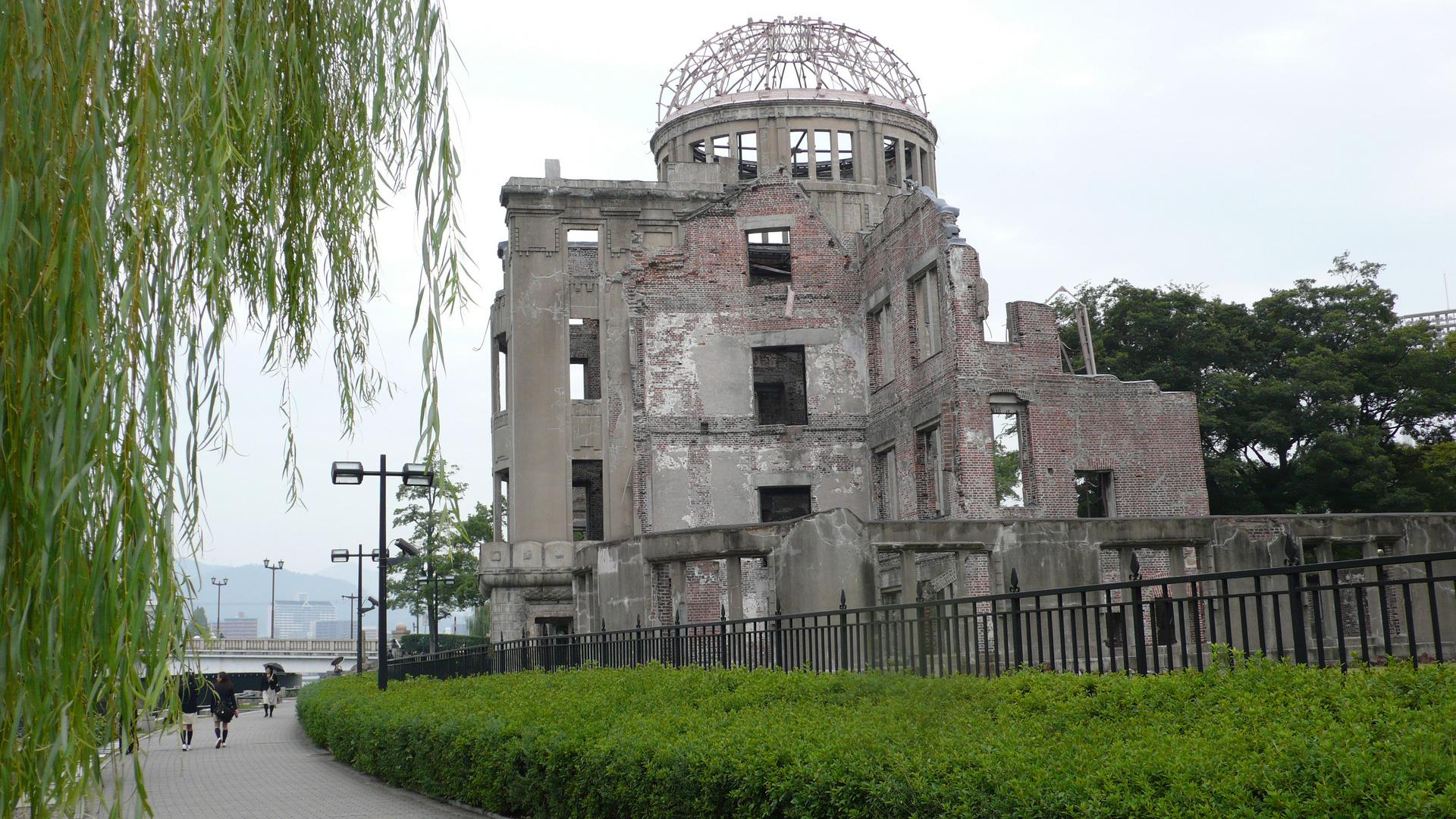 Der Atombomben-Dom in Hiroshima