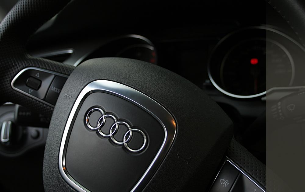 der Audi A5…