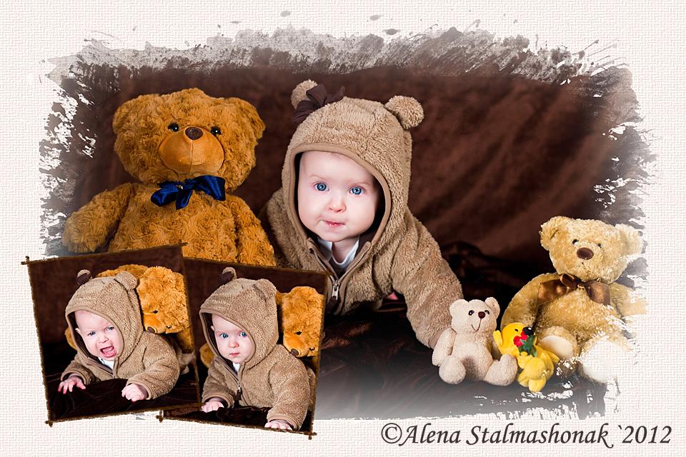 Der Bär greift an)))