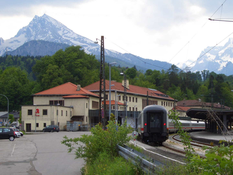 Der Bahnhof in Berchtesgaden