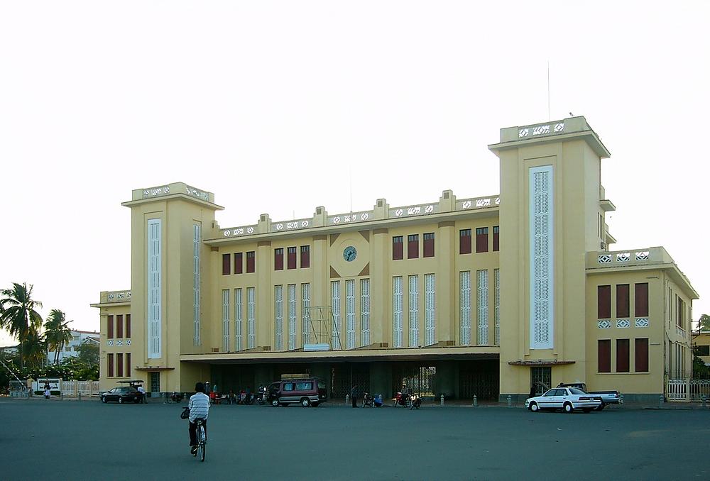 Der Bahnhof von Phnom Penh