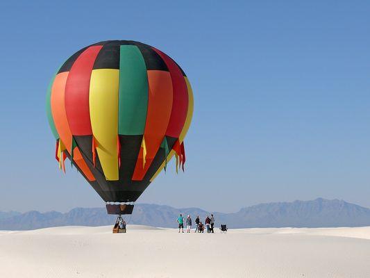 Der Ballon, der nicht fliegen (fahren) konnte.