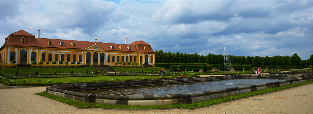 Der Barockgarten Großsedlitz....,