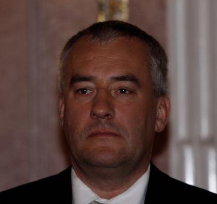 Der bayerische Kultusminister Spänle