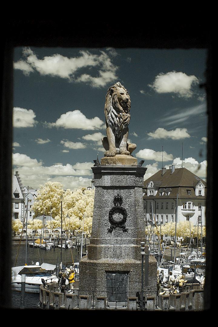 Der Bayerischer Löwe
