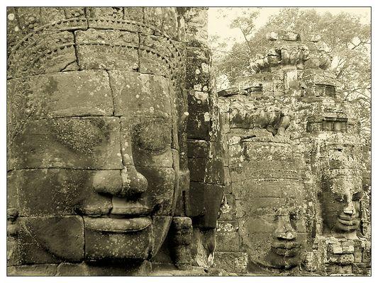 Der Bayon - Siem Reap, Kambodscha