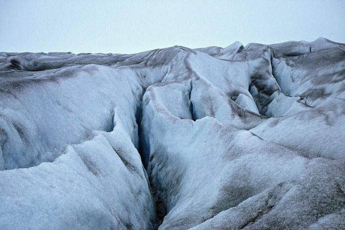Der Beginn des grönländischen Inlandeises