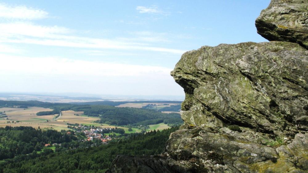 Der Beilstein im Naturpark Hochtaunus