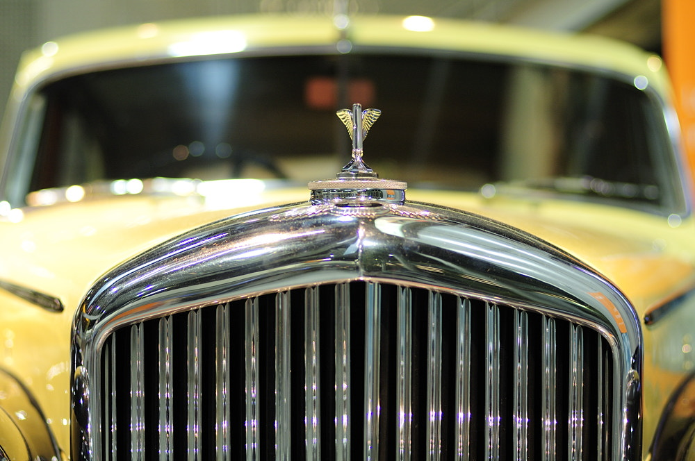 Der Bentley am Fraport ....