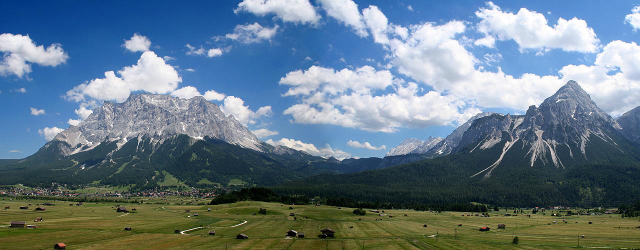 Zugspitze Panorama Der Berg ruft - die Zu...