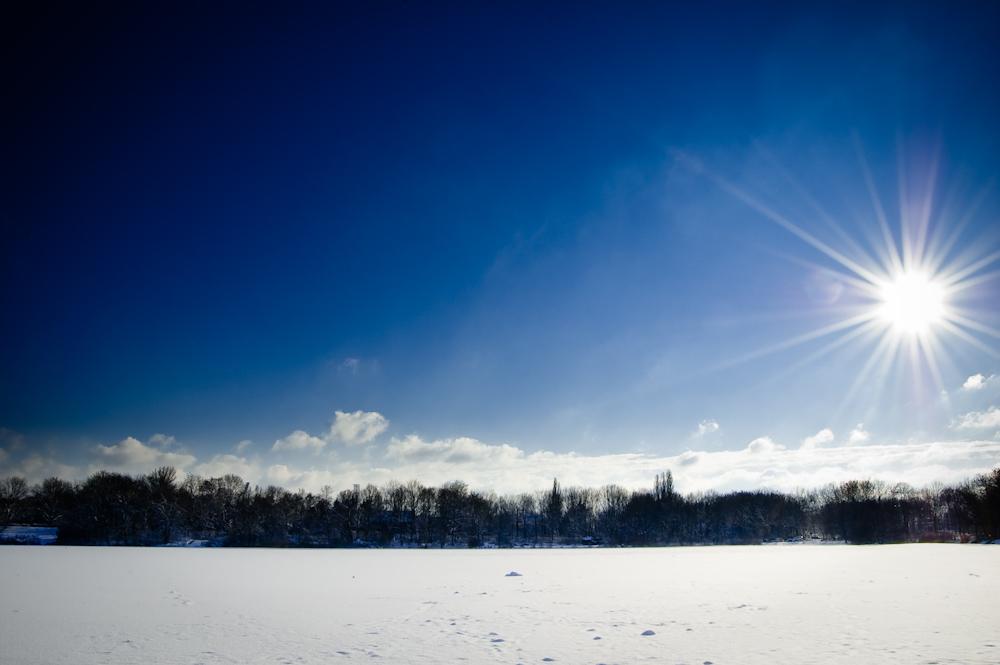 Der Berger See im Winter
