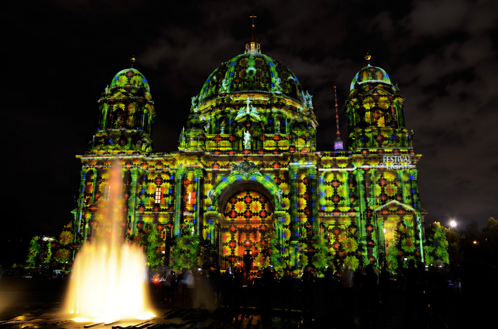 Der Berliner Dom in seiner ganzen Pracht