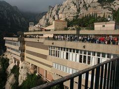 Der berühmte Wallfahrtsort Montserrat