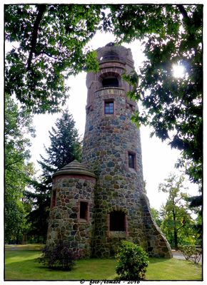 Der Bismarckturm in Spremberg