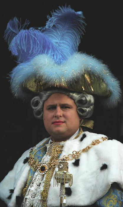 Der blaue König